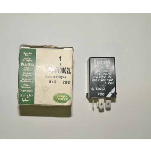 FLASHER RELAY H/D W/TOW BAR DIS/DEF YWT10002L