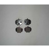REAR BRAKE PADS INCLUDES CLIPS AND BOLTS LR023888BM