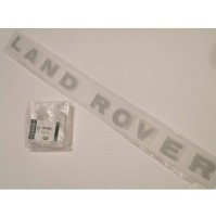 BONNET DECAL 'LAND ROVER' SILVER F/L           DAG100270MAD